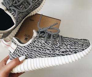 adidas, white, and yezy image