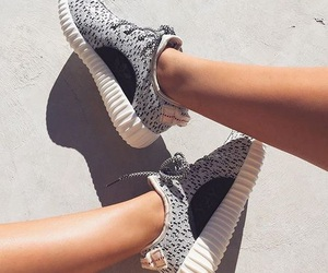 adidas, black and white, and like image