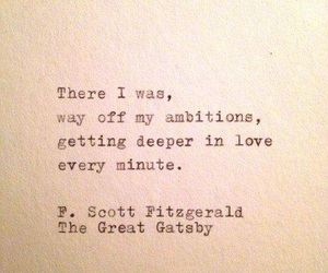 quotes, love, and gatsby image