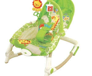 chair, imposing, and baby swing image