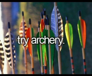 archery and bucket list image