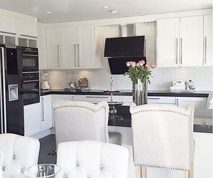 kitchen, home, and beautiful image