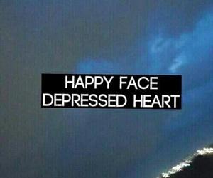 depressed, heart, and sad image