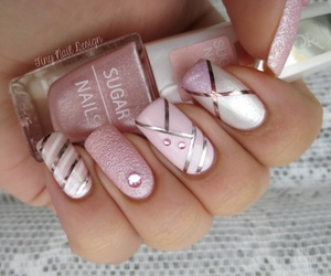fashion, nails, and manicur image