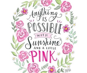 pink, wallpaper, and quotes image