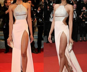 cannes, redcarpet, and Chanel Iman image