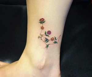 aesthetic, simple, and Tattoos image