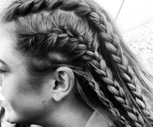 cornrows, girls, and cot image