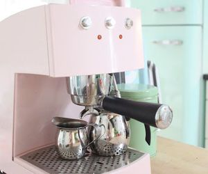 pink, coffee, and vintage image