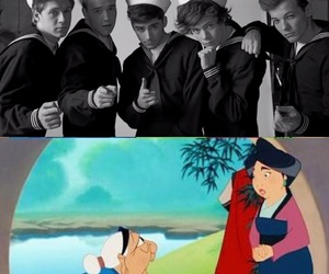 funny, kiss you, and music video image
