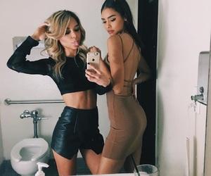beauty, selfie, and dress image