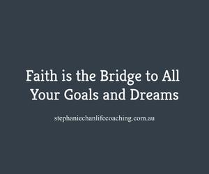 dreams, faith, and goals image