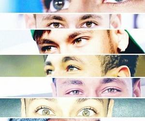 neymar, eyes, and ney image