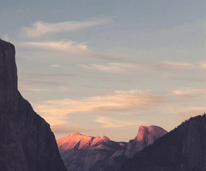 mountains, sky, and nature image