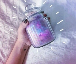 tumblr, galaxy, and purple image