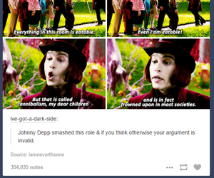 funny, johnny depp, and society image