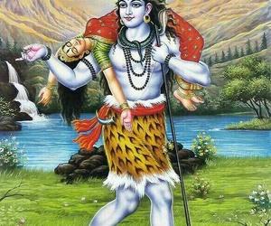 shiv and death sati image