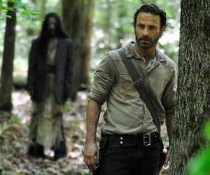 the walking dead, rick, and andrew lincoln image