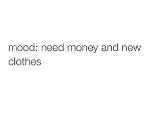 quote, clothes, and money image