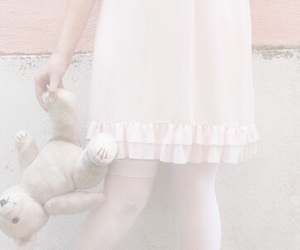girl, pastel, and pale image