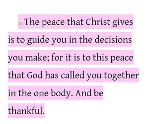 Christ, decisions, and god image