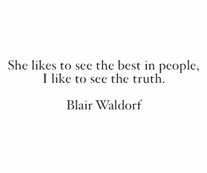 quotes, blair waldorf, and gossip girl image