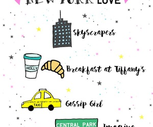 new york, Breakfast at Tiffany's, and gossip girl image