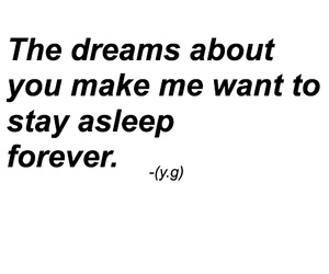 quote, love, and dreams image