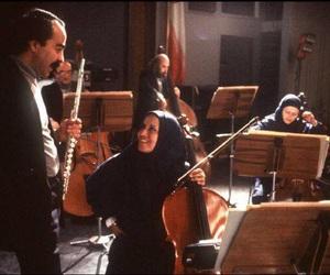 east, hijab, and music image