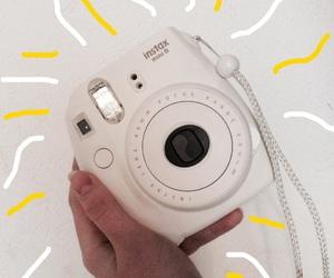camera, instax, and polaroid image
