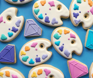Cookies, food, and diamond image