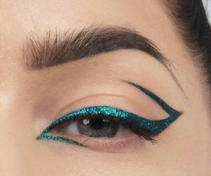cool, make up, and eye image