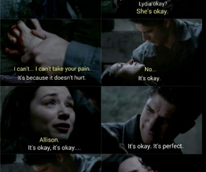 teen wolf, scott mccall, and allison argent image