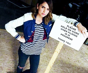 shelley hennig, teen wolf, and malia tate image