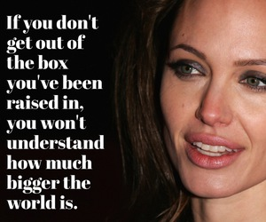 Angelina Jolie, life, and poverty image