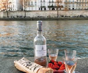 food, drink, and paris image