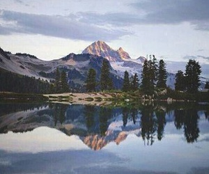 mountains, nature, and photo image