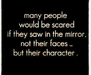 quotes, character, and mirror image