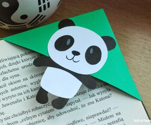 diy, handmade, and panda image