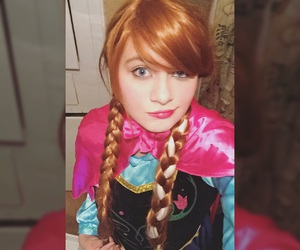 anna, cosplay, and disneyland image