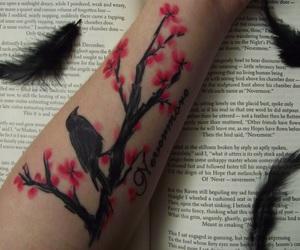 tattoo, edgar allan poe, and raven image