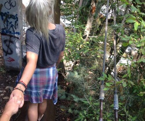girl, grunge, and couple image