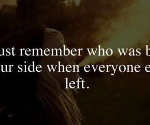 quote, remember, and left image