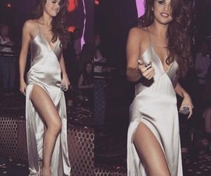 selena gomez, beauty, and dress image