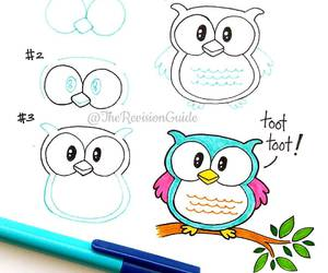 owl and draw image