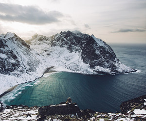 arctic, mountain, and nature image