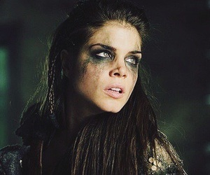 the 100, marie avgeropoulos, and octavia image