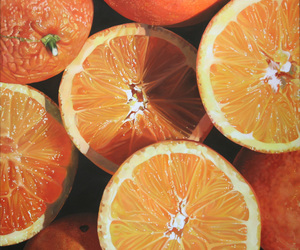 exotic, fruit, and orange image
