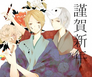 anime, natsume, and crossover image