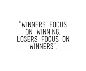 quote, loser, and winner image